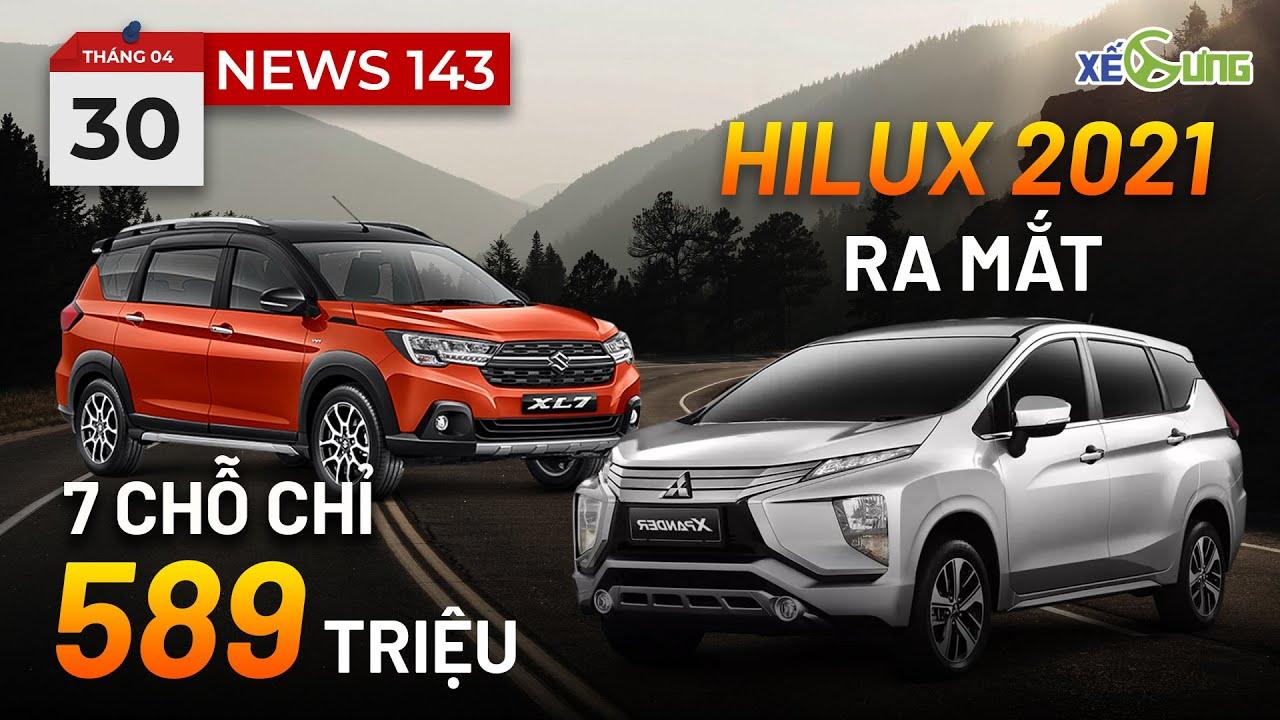 Suzuki XL7 chỉ 589 triệu thách thức Mitsubishi Xpander – Hilux 2021 lộ diện cực đẹp