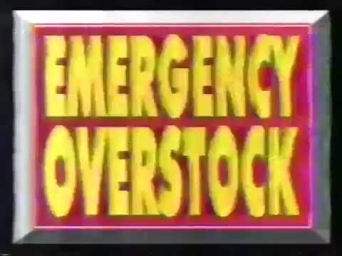"Atlanta Furniture: ""Emergency Overstock"" (circa 1992)"