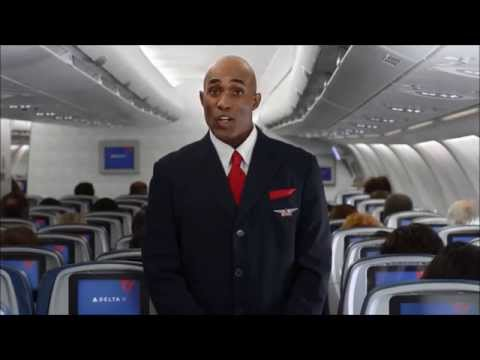 Delta Airlines Safety Film (Funny)
