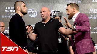 The Biggest Fight in UFC History   McGregor vs  Khabib