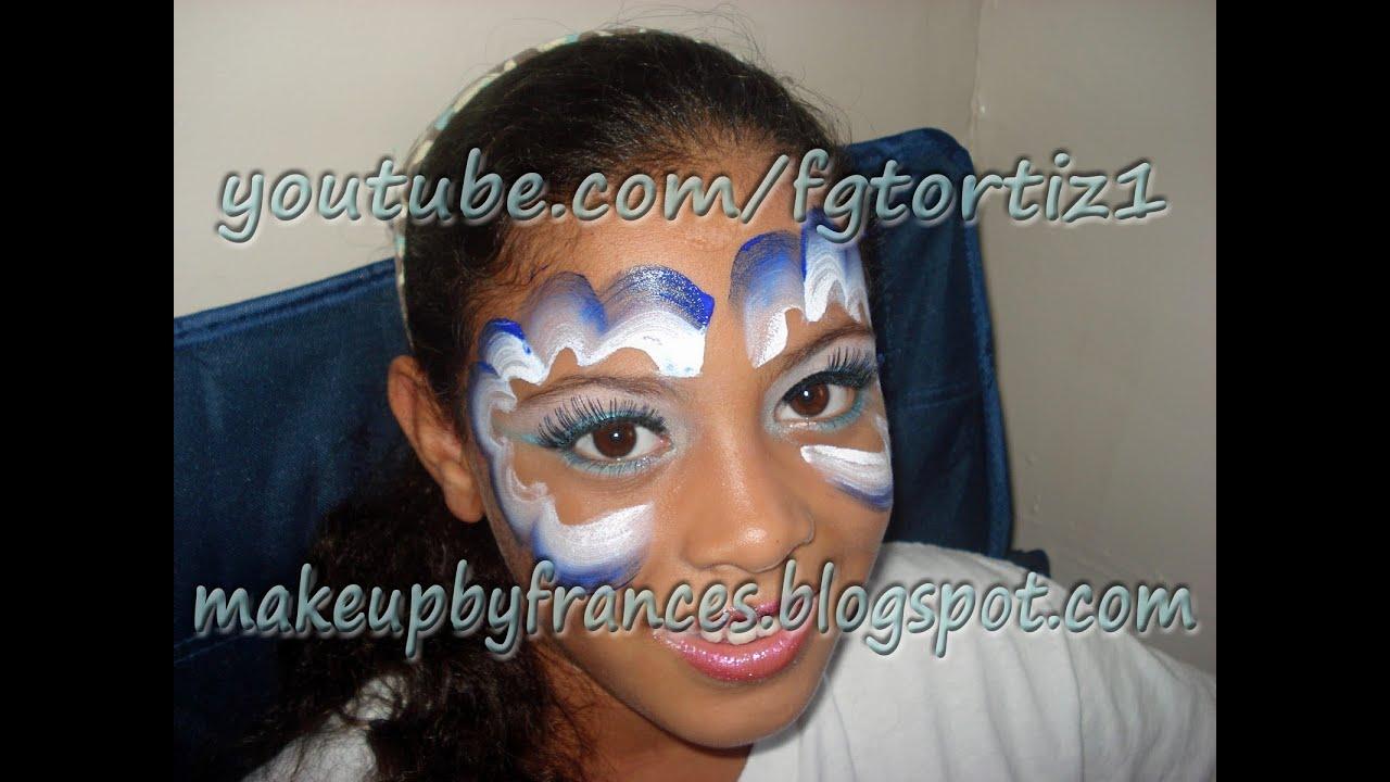 Tutorial de Maquillaje de Angel para Niñas para la Noche de Brujas ...