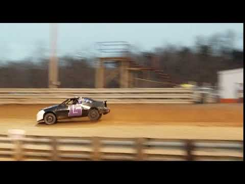 Ucar #15 At Hagerstown Speedway On 3-30-19 Left Rear In The Air
