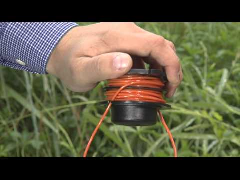 Stihl how to replace trimmer line how to replace trimmer line on a stihl autocut 25 2 greentooth Gallery