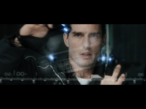 Minority Report 's gesture-based user interface