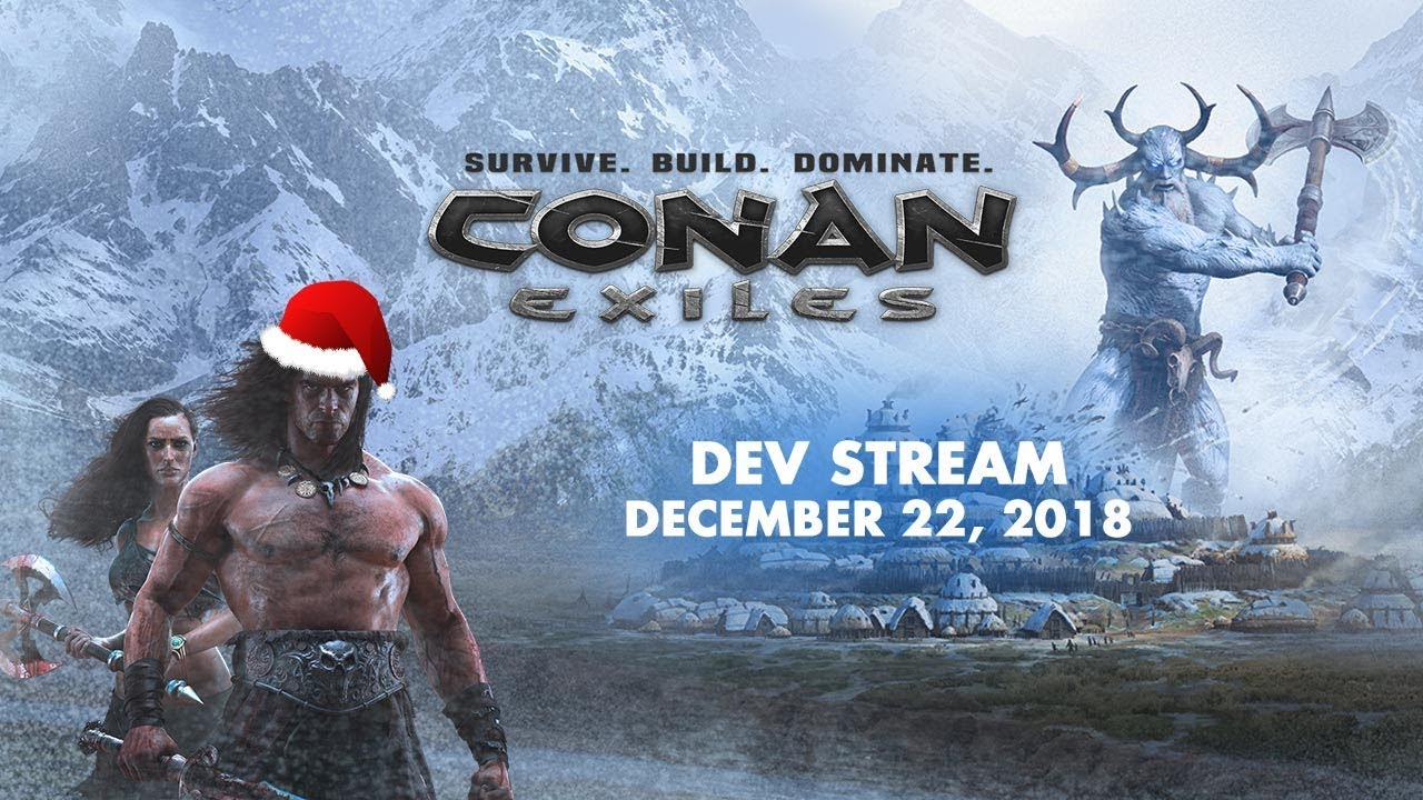 Conan Exiles chill stream w/ Nicole and Jens Erik