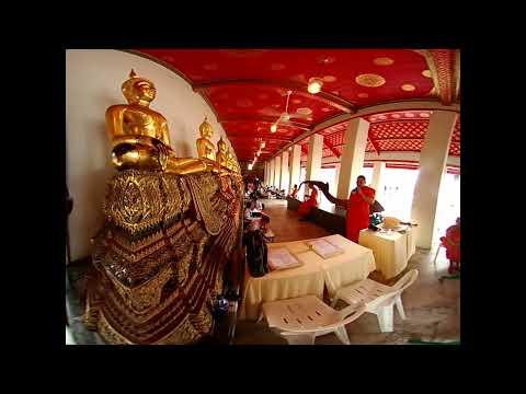 Bangkok Wat Pho reclining Buddha temple part 2 3D VR180