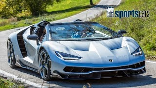 Lamborghini Centenario Roadster / SOUND / Impressionen - AUTO BILD SPORTSCARS
