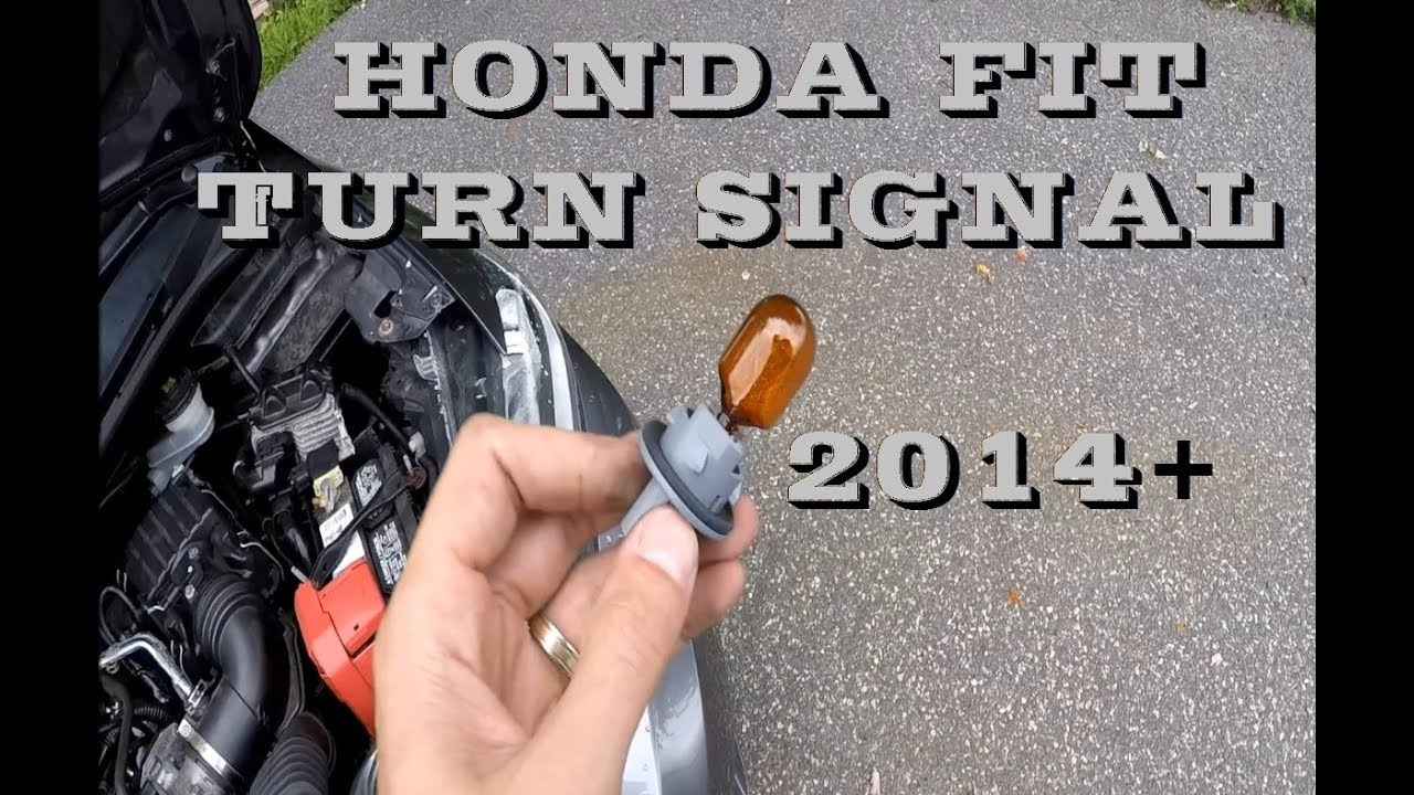 How To Change Replace Honda Fit Turn Signal 2014