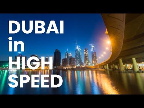 Dubai Business Bay 4K timelapse