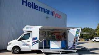 HellermannTyton InnoVan - more flexible than an exhibition stand (Trailer)