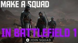 كيفية جعل الفرقة في المعركة 1 (إنشاء/الانضمام إلى الفرقة في المعركة 1)