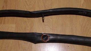 Как заклеить, правильно клеить камеру велосипеда, 1 бар = 0,986 атм.(Мой ВК https://vk.com/id263241899 Полезные видео с моего канала, о ремонте велосипеда. 1) Задняя втулка колеса обслуживан..., 2014-12-08T14:36:02.000Z)