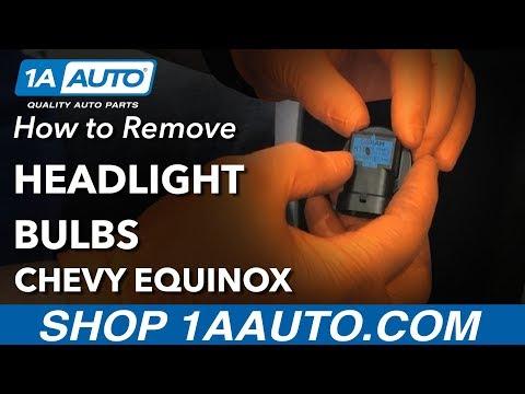 How to Replace Headlight Bulbs 10-17 Chevy Equinox