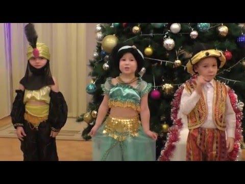 Дети 5 - 6 лет читают новогодние стихи деду морозу. Новый год в детском саду.