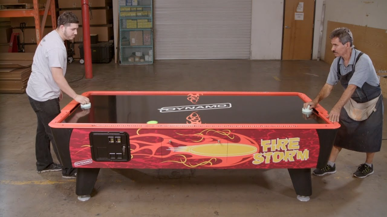 How It's Actually Made - Air Hockey Tables