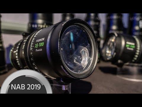 FUJINON Premista Large Format Zoom Lenses - NAB Interview