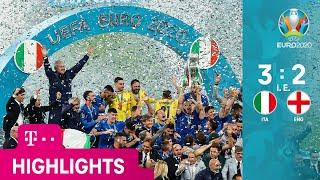 Italien - England, Highlights | UEFA EURO 2020, Finale