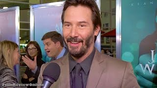 John Wick - Interview with Keanu Reeves at Hollywood screening