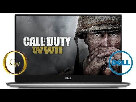 Playing Call of Duty WWII on Dell XPS 15(9560) in High Settings