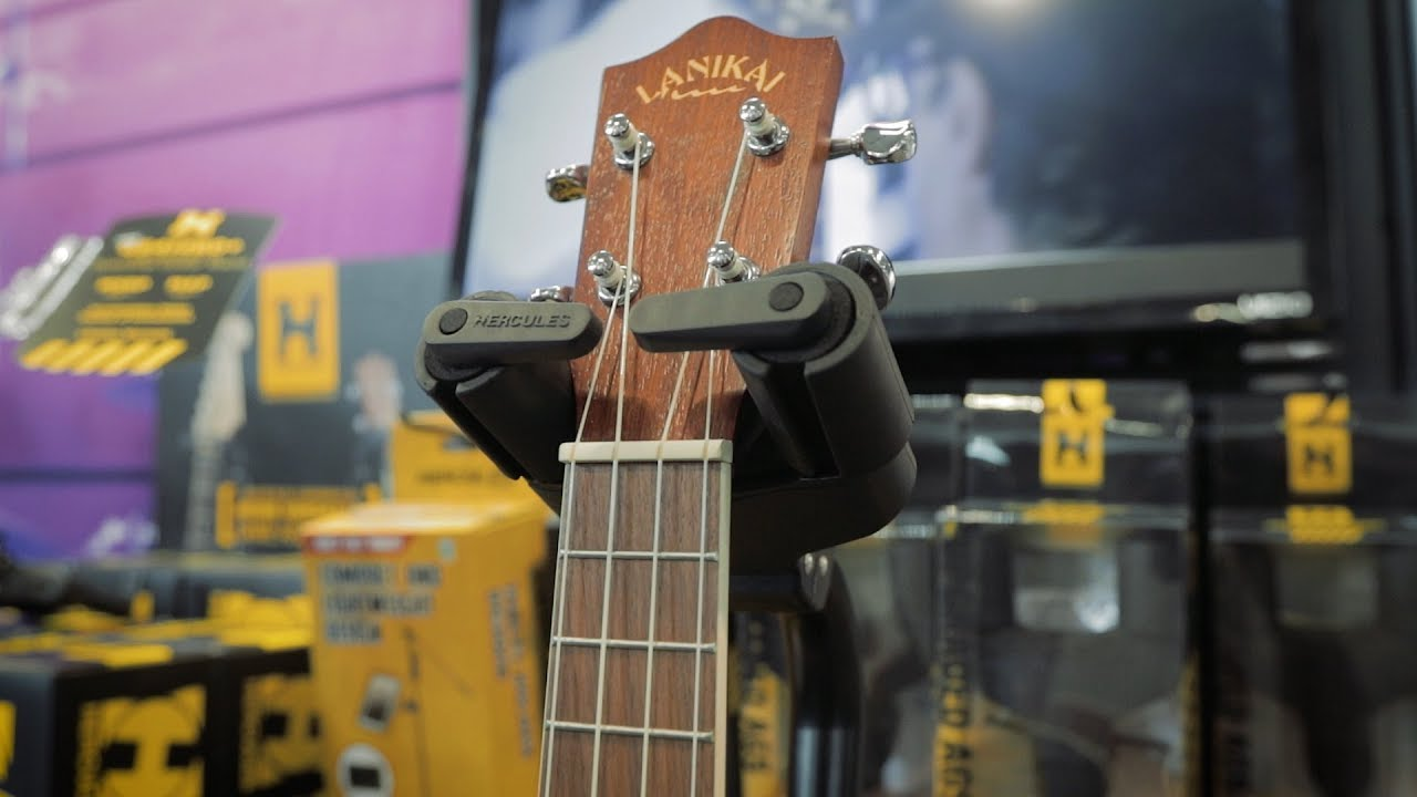 YouTube Hercules Guitar Stand and Hanger Upgrades at SNAMM