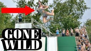 Slip N Slide GONE WILD!