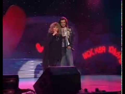 Алла Пугачёва и Филипп Киркоров - Осенние листья (Love Story 2003)