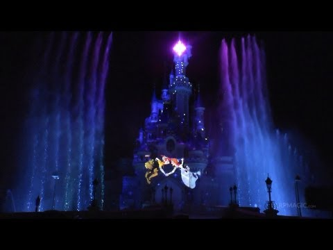 Disney Dreams! Disneyland Paris Opening Night Front Row - 20th Anniversary HD Full Show