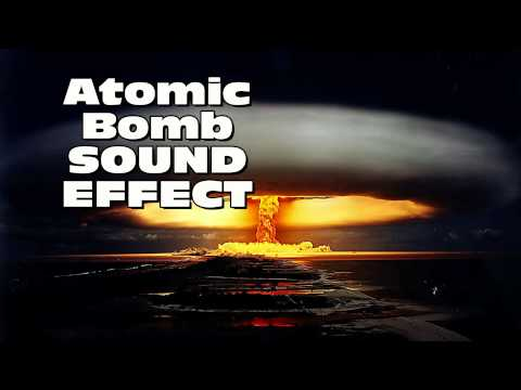 Atomic Bomb Sound Effect