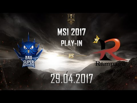 [29.04.2017] SUP vs RPG [MSI 2017][Play-in]