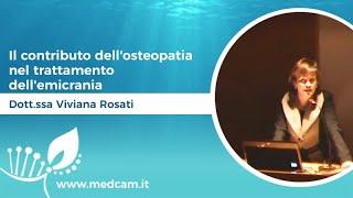Il contributo dell'osteopatia nel trattamento dell'emicrania [...] - Dott.ssa Viviana Rosati