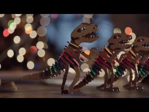 A Holiday Film Starring #RexyTheCoachDino