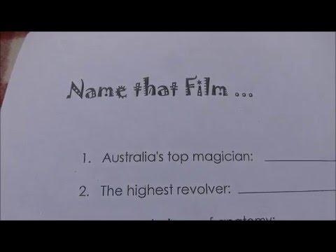 NAME that FILM CRYPTIC QUIZ