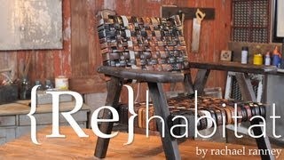 How To Make A Lounge Chair With Leather Belts -- Buildipedia Diy