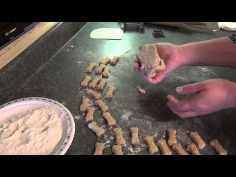 Homemade Basic Dog Biscuits! (Recipe)