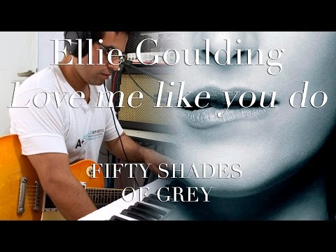 Ellie Goulding - Love Me Like You Do   Electric guitar cover (instrumental & backing track)