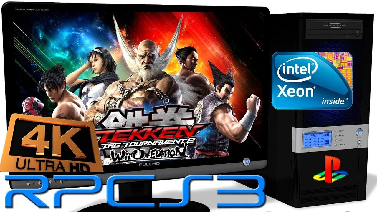 Rpcs3 0 0 4 Ps3 Emulator Tekken Tag Tournament 2 4k Upscale