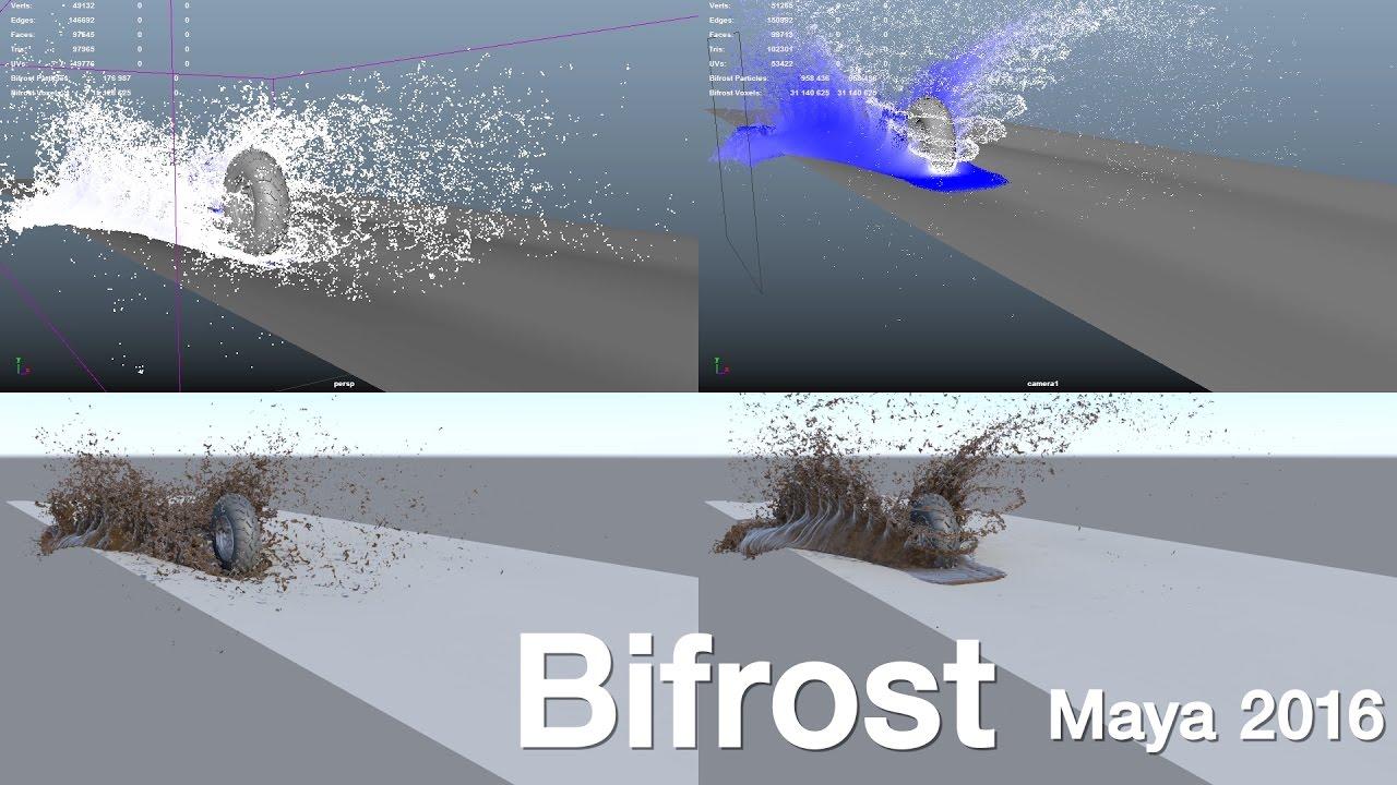 Bifrost water splash youtube.