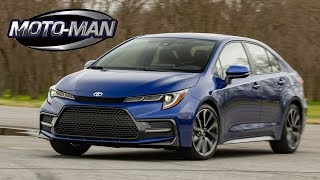 2020 Toyota Corolla Sedan FIRST DRIVE REVIEW & TECH REVIEW