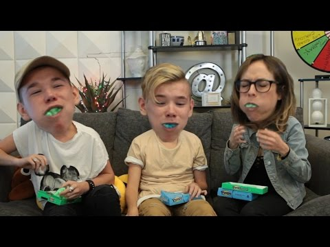 Marcus & Martinus - Chubby Bunny Challenge w/ Easter Peeps! | What's Trending Original