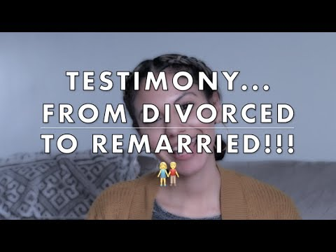 Testimony. . . From Divorced To Remarried!!! 😯🙌🏽🙏🏽🤗