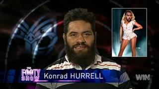 Best Of Konrad Hurrell | NRL Footy Show | Ep14 02-06-2016