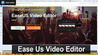 Ease Video editor for windows | video editor laptop/pc | best video editor | free video editor