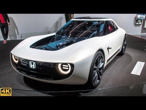 HONDA SPORTS EV CONCEPT - GENEVA MOTOR SHOW [2018 4K]