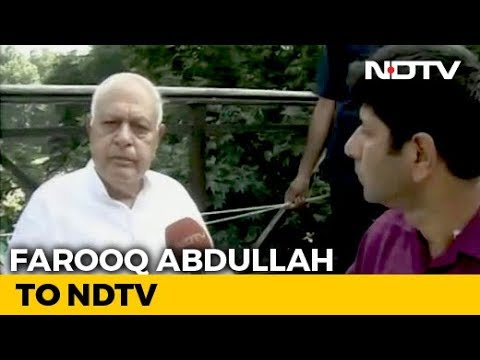 'Was Detained At Home, Home Minister Lying': Farooq Abdullah Breaks Down