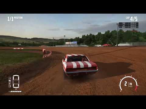 [Former WR] Wreckfest: Bloomfield Speedway Dirt Oval 5 Laps 1:24.218 (C Class)