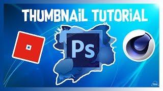 How I Make My Thumbnails!!!   Roblox Photoshop Thumbnail Tutorial