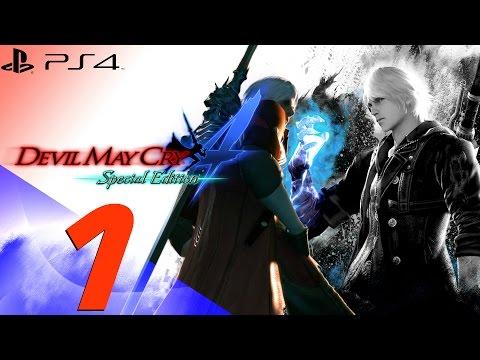 Devil May Cry 4 Special Edition - Nero & Dante Walkthrough Part 1 - Dante & Berial [1080p 60fps]