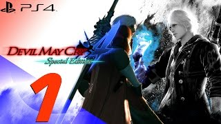 Devil May Cry 4 Special Edition - Nero & Dante Walkthrough Part 1 - Dante & Berial [1080p 60fps]