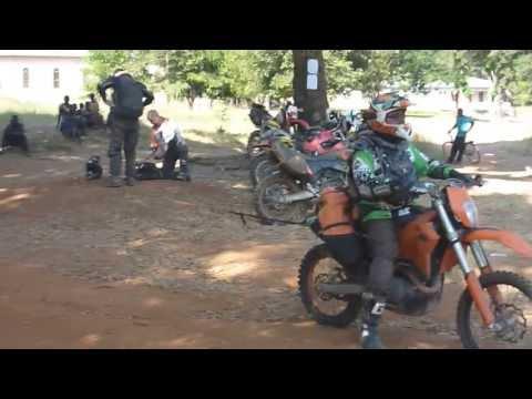 Tanzania Motorbike Ride - Towing a KTM and Blasting Big Dirt: Inyonga to N Katavi
