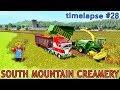 Farming simulator 17   South Mountain Creamery Farm With Seasons   Timelapse #28